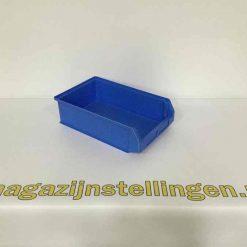 kunststof bakken 50x30x14 blauw