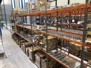 Palletstelling voor warehouse